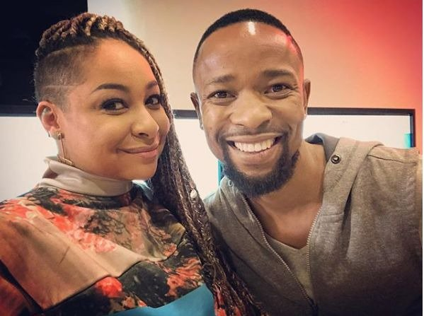Raven Symone in SA for 'Raven's Home' premiere