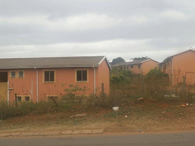 RDP flats in Umlazi T section
