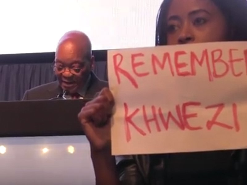 Remember Khwezi