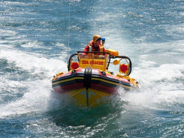 NSRI rescue boat
