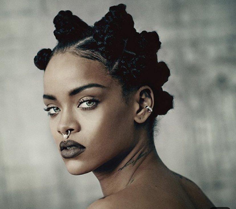 Rihanna Buntu Knots