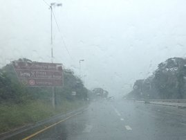 New record rainfall in July for Durban