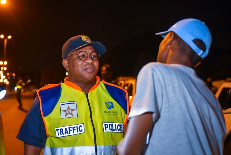 Mbalula Roadblocks