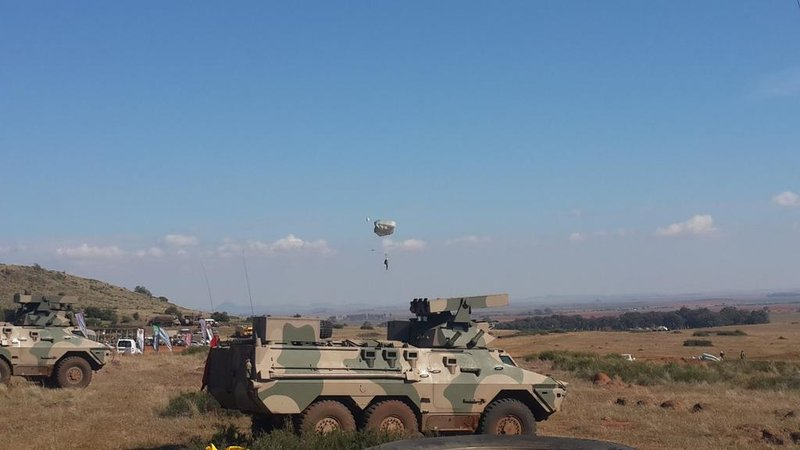 SANDF show of force military army_jacanews