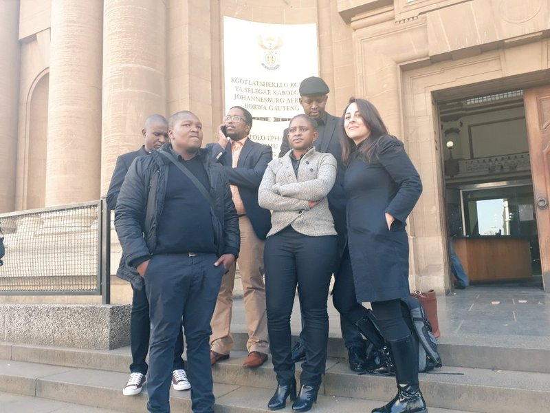 Slanging match between BLF and journalists after interdict granted