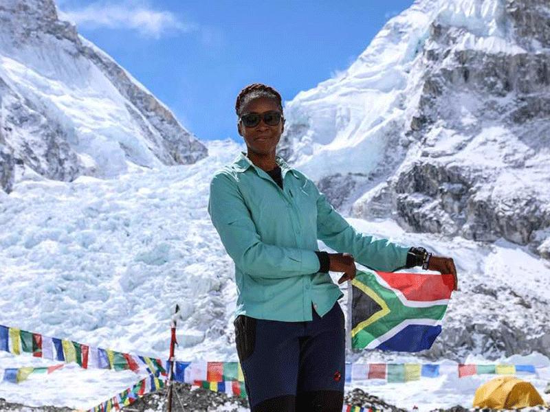 Saray Khumalo waits to return to SA