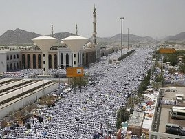 Over 700 killed in a stampede during Hajj