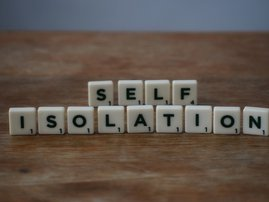 Self Isolation Scabble