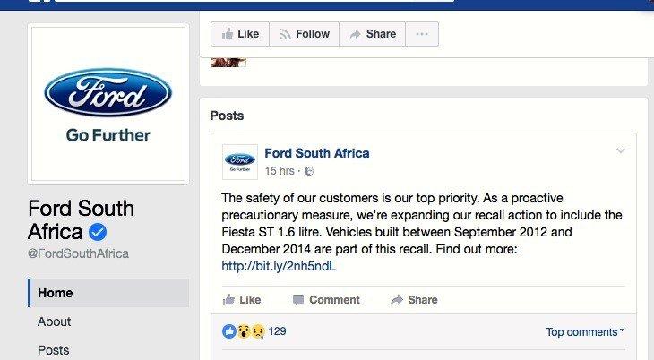 Screengrab - Ford Fiesta