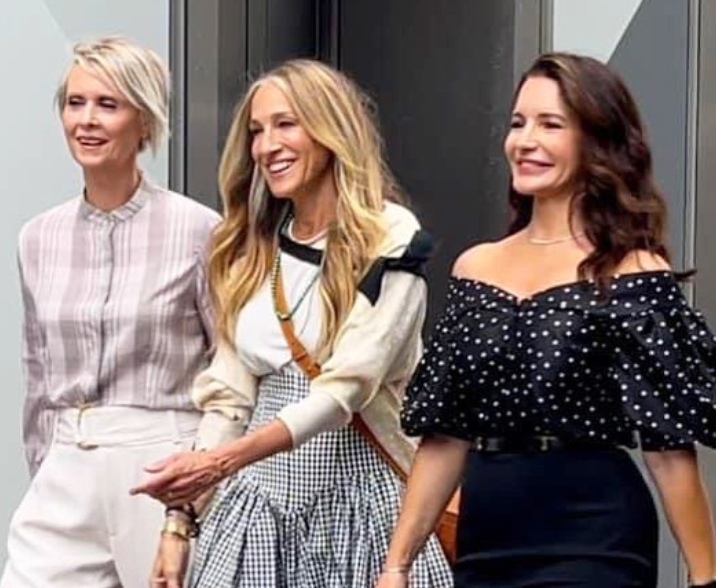 SPOILER ALERT: Sex and The City filming for a new movie started earlier this month...