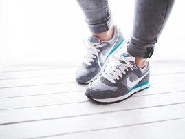 Nike shoes breakfast