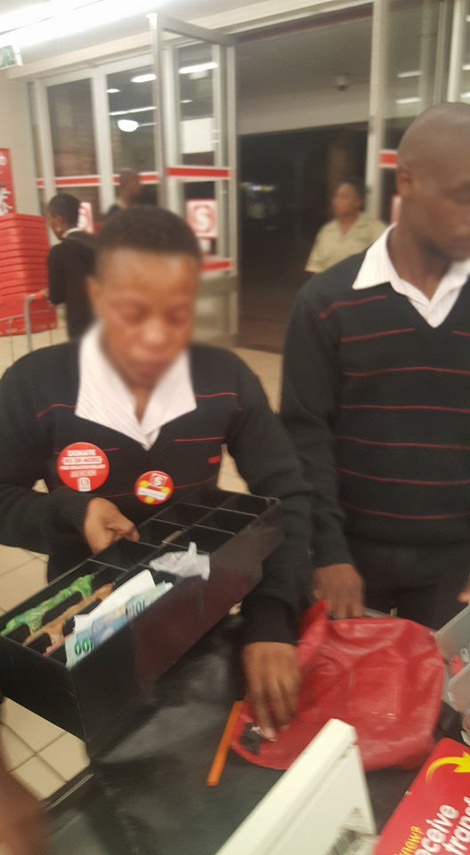 The Reason Why This Shoprite Employee Is In Tears Will Outrage You