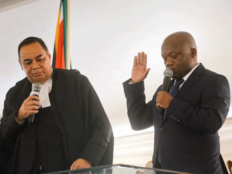 KZN Premier, Sihle Zikalala being sworn in