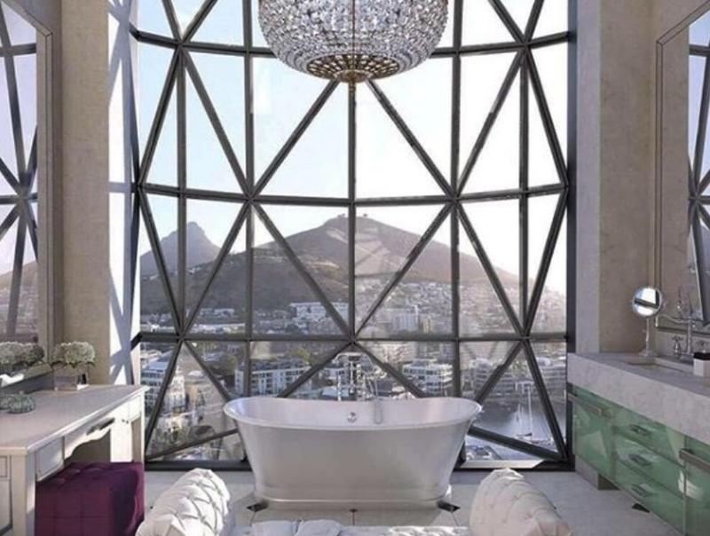 Silo Hotel Cape Town bathroom