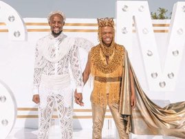 Somizi and Mohale traditional wedding day