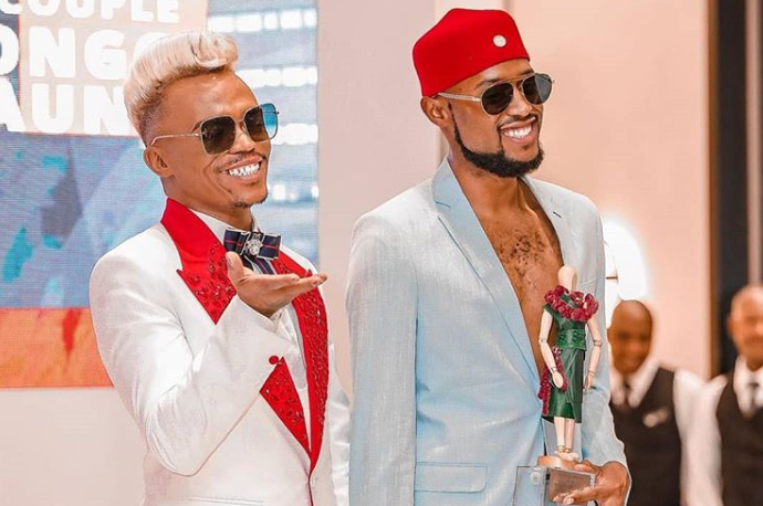 Somizi and Mohale instagram