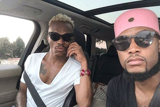 Somizi and his fiance Mohale