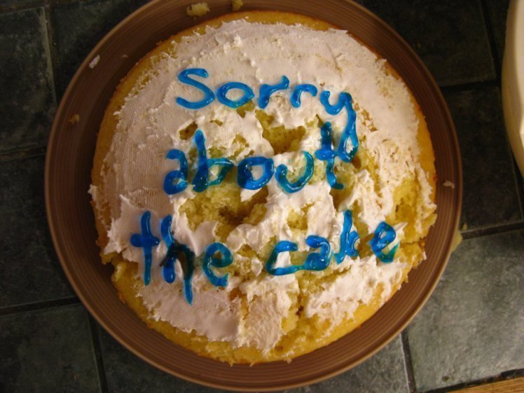 Wondrous 11 Hilarious Birthday Cake Fails Funny Birthday Cards Online Inifofree Goldxyz