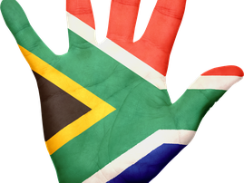 south african hand