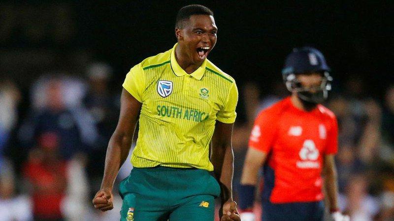 Fast bowler Lungi Ngidi