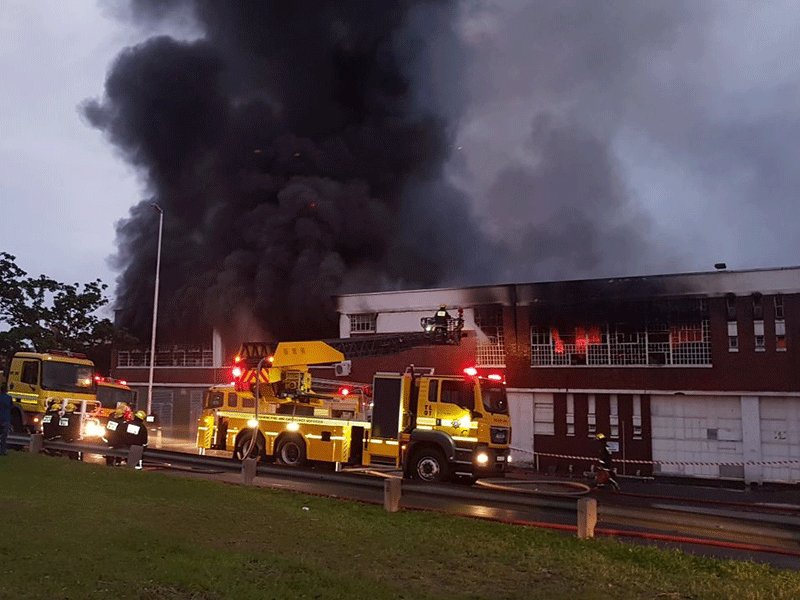South Coast Road Fire - December 2017