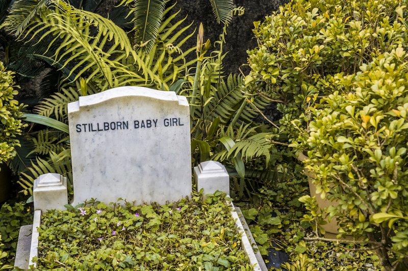 Stillborn baby headstone