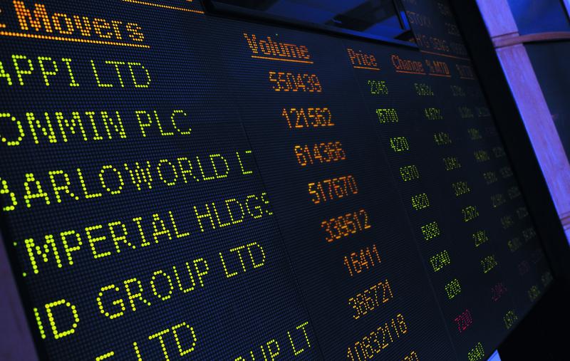 Johannesburg stock exchange, stock market