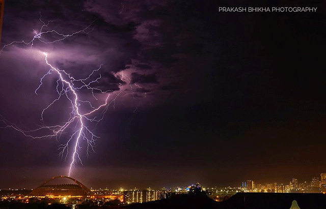PICS More Thunderstorms For KZN This Week After Lightning Over Durban