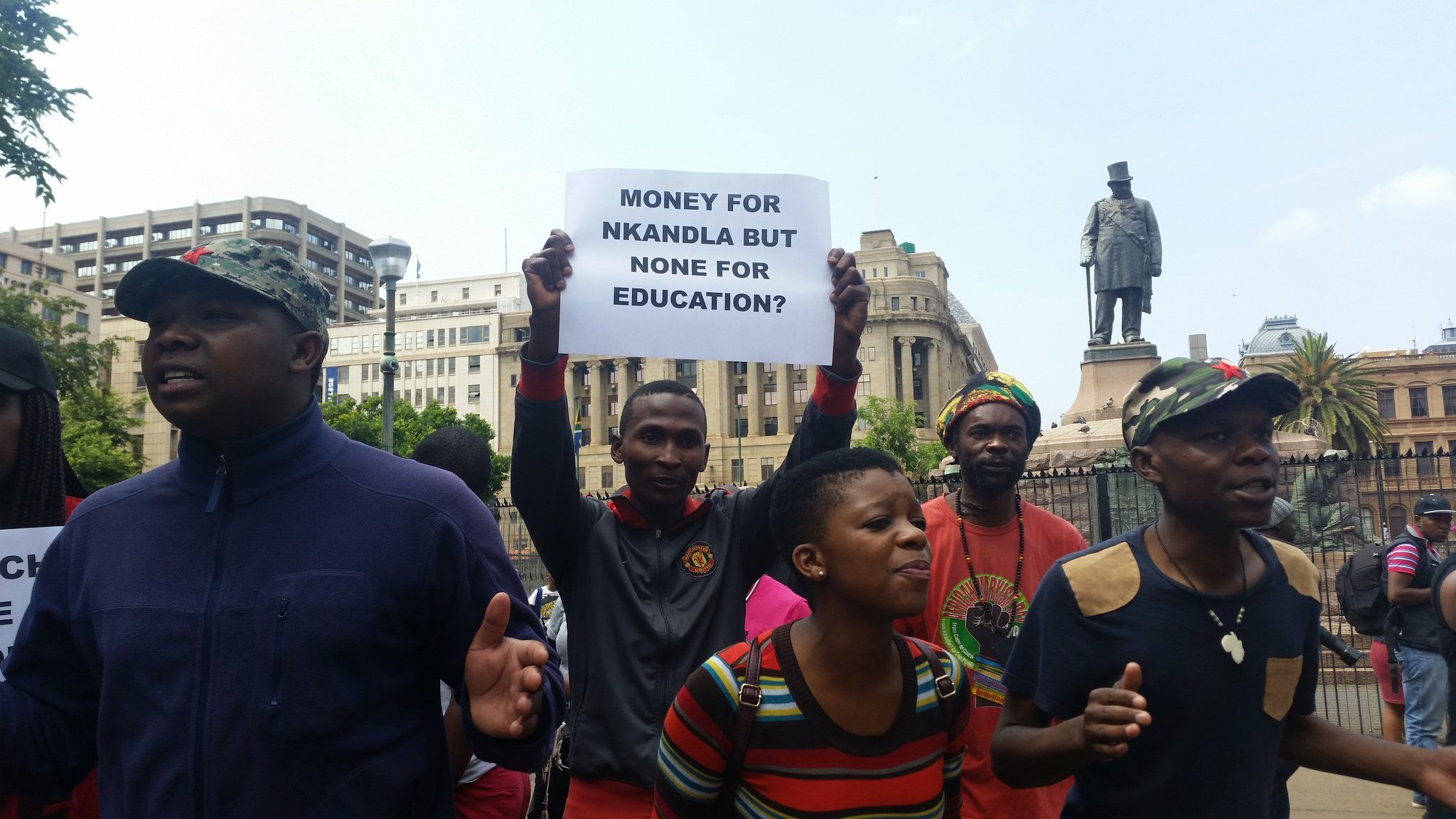 Student Fees March Union Buildings 1