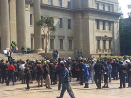 Students at Wits