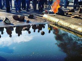 Students start fire at TUT