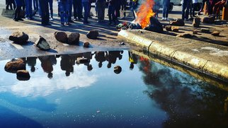 Students start fire at TUT