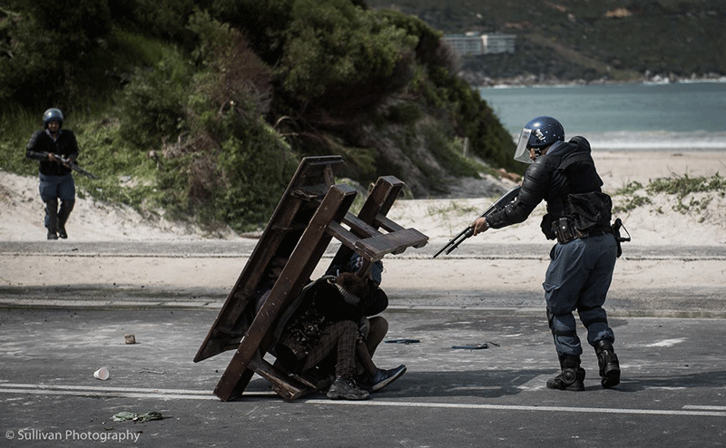 Police keep close eye on Hout Bay protests