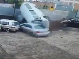 taxi crash new germany