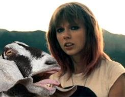 Taylor Swift Knew You Were A Goat