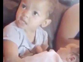 Taylor's terrible twos has a minor tantrum