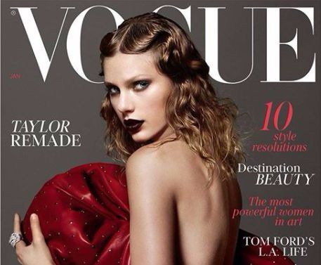 Taylor Swift British Vogue cover