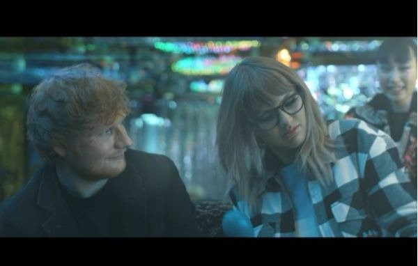 Taylor Swift Ed Sheeran End Game music video