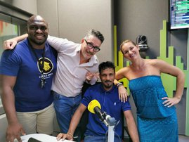 manuel with breakfast team