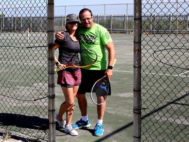 Tennis World Record Bid