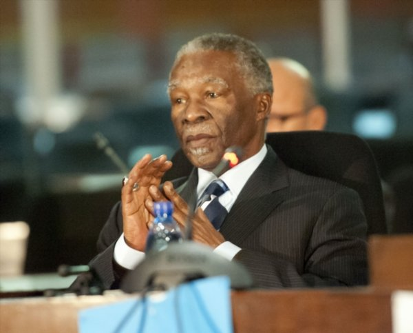 Thabo Mbeki denies 'HIV does not cause Aids' remark