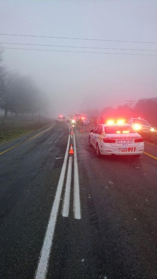 Bus crash Underberg