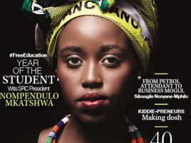 President Nompendulo Mkatshwa has graced the cover of this month's Destiny magazine
