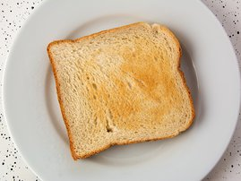 Dry toast Breakfast