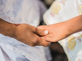 Together hands