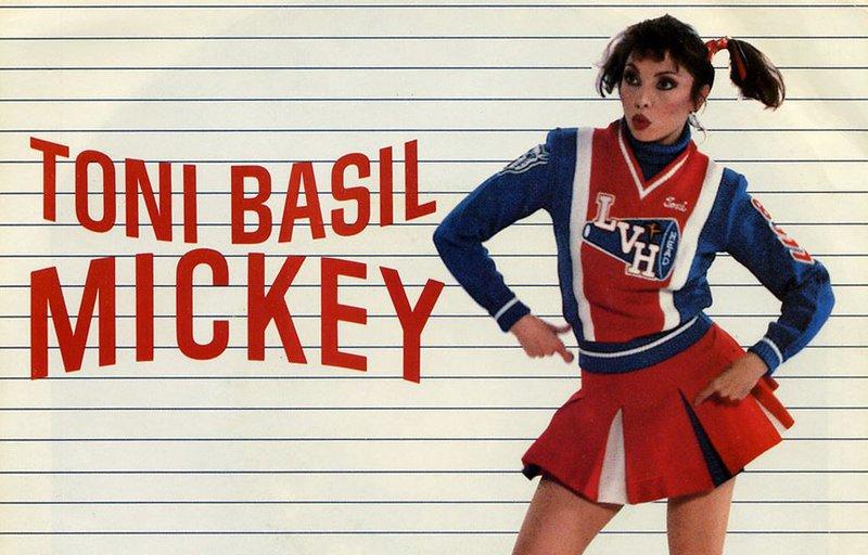 Toni Basil - Mickey - Single Cover
