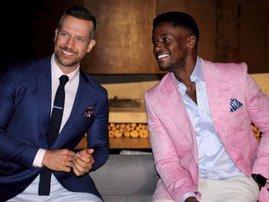 Top Billing presenters Jonathan Boynton-Lee and Fezile Mkhize