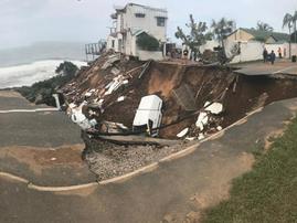 Rockview Road home collapse (Amanzimtoti, Durban)