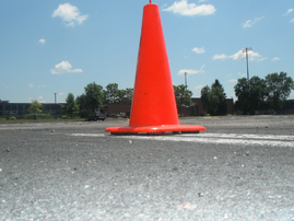 traffic cone in road.PNG