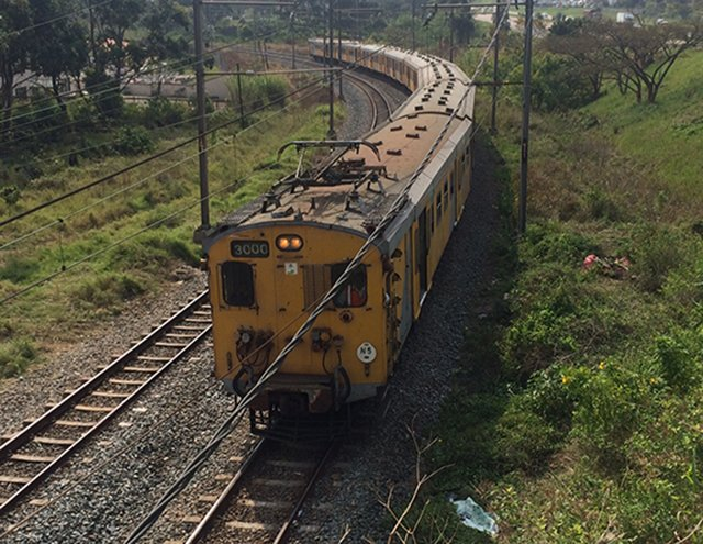 Durban woman killed after being struck by train